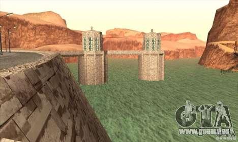 Die neue Talsperre für GTA San Andreas fünften Screenshot