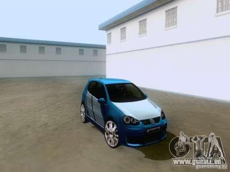 Volkswagen Golf V GTI pour GTA San Andreas vue de droite