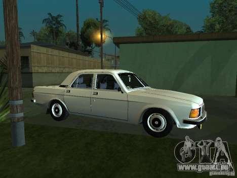GAZ 3102 für GTA San Andreas zurück linke Ansicht
