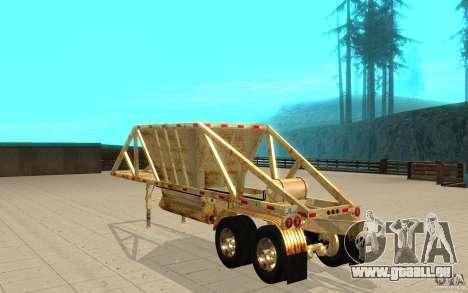 Petrotr remorque 2 pour GTA San Andreas