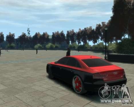 Audi A8 tuning pour GTA 4 est une gauche