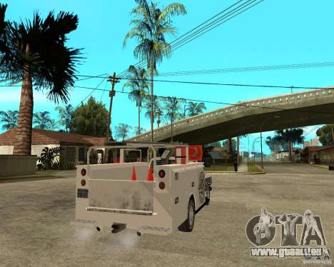 Ford F150 1992 Utility Van für GTA San Andreas zurück linke Ansicht