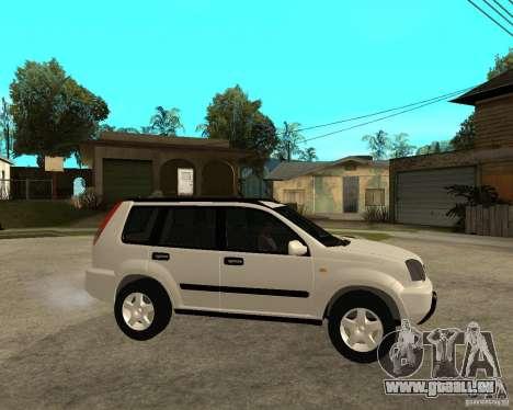 NISSAN X-TRAIL 2001 pour GTA San Andreas vue de droite
