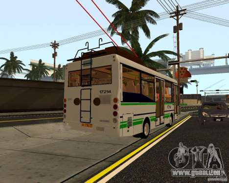 GROOVE MTRZ 3237 für GTA San Andreas zurück linke Ansicht