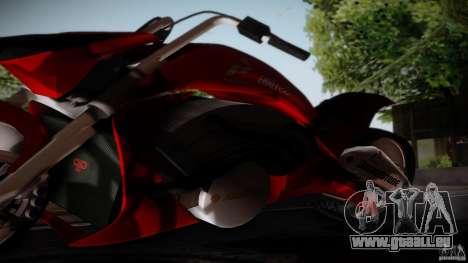 Predator Superbike pour GTA San Andreas sur la vue arrière gauche