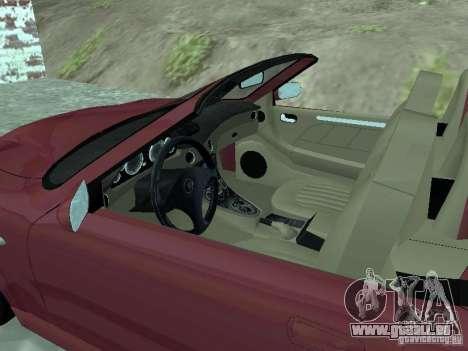 Spyder Cambriocorsa pour GTA San Andreas laissé vue