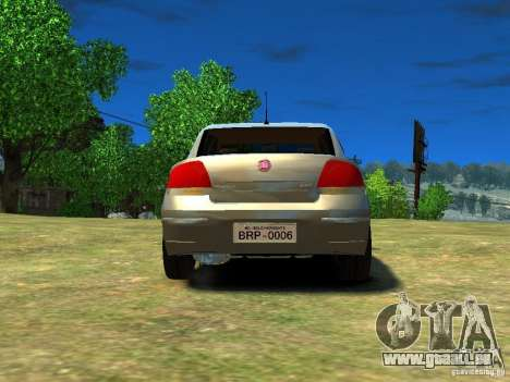 Fiat Linea für GTA 4 hinten links Ansicht