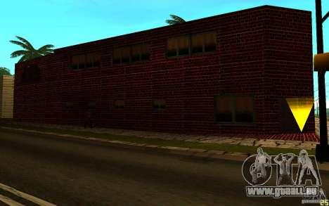 Nouvelle salle de sport pour GTA San Andreas quatrième écran
