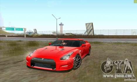 Nissan GT-R R-35 2012 pour GTA San Andreas