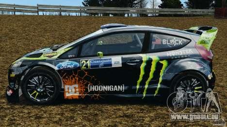 Ford Fiesta RS WRC Gymkhana v1.0 für GTA 4 linke Ansicht