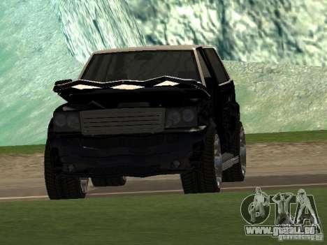 Huntley in GTA IV für GTA San Andreas Innenansicht