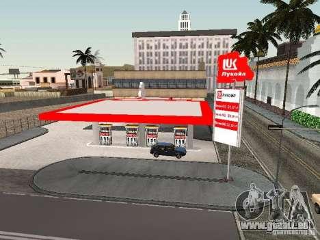 Der Lukoil Tankstelle für GTA San Andreas