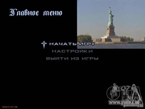 Nouveau menu dans le style de New York pour GTA San Andreas