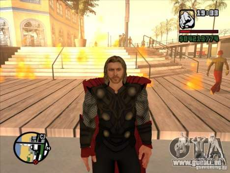 Thor pour GTA San Andreas