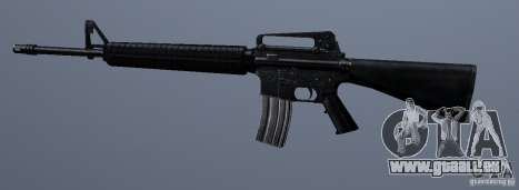 M16A4 für GTA San Andreas dritten Screenshot