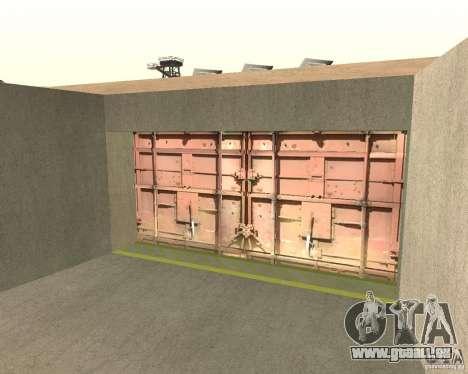 Porte pneumatique dans la zone 69 pour GTA San Andreas