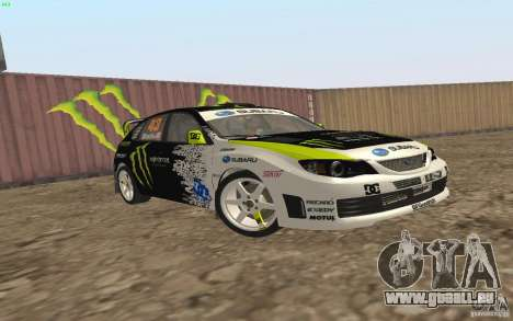 Subaru Impreza WRX Gymkhana2 Beta für GTA San Andreas