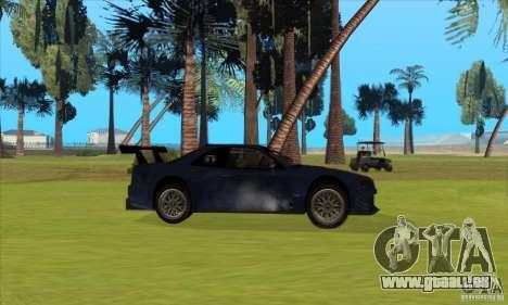 Nissan Skyline R34 GT-R LM für GTA San Andreas Unteransicht