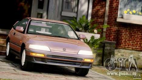 Honda CR-X SiR 1991 für GTA 4
