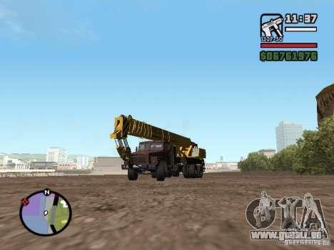 KrAZ-250 MKAT-40 für GTA San Andreas
