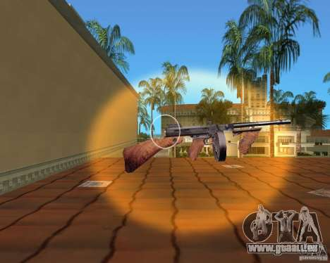 Thompson Model 1928 für GTA Vice City sechsten Screenshot