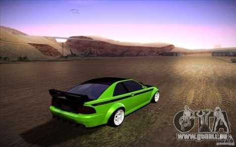 GTA IV Sultan RS pour GTA San Andreas laissé vue