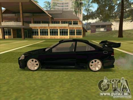 Honda Civic Coupe 1995 from FnF 1 für GTA San Andreas Innenansicht