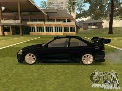 Honda Civic Coupe 1995 from FnF 1 pour GTA San Andreas vue intérieure