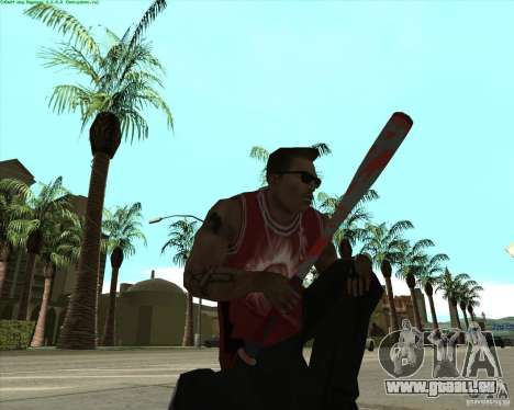 Blood Weapons Pack für GTA San Andreas her Screenshot