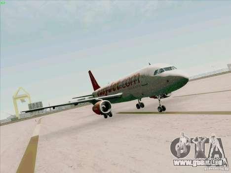Airbus A319 Easyjet für GTA San Andreas