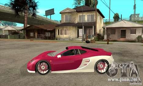 Ascari KZ-1 pour GTA San Andreas laissé vue