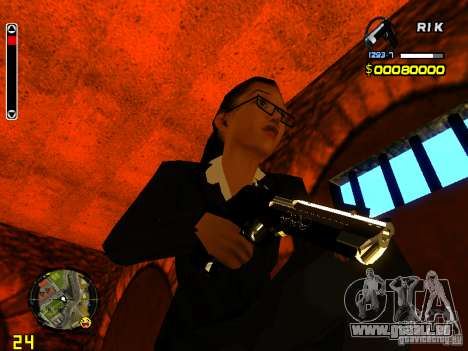 Next weapon pack pour GTA San Andreas