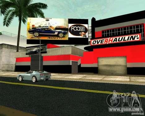 OVERHAULIN Workshop für GTA San Andreas dritten Screenshot