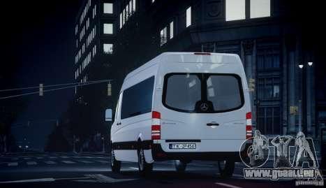 Mercedes-Benz Sprinter Long pour GTA 4 est un droit