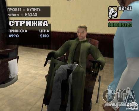 Vêtements d'un harceleur pour GTA San Andreas neuvième écran