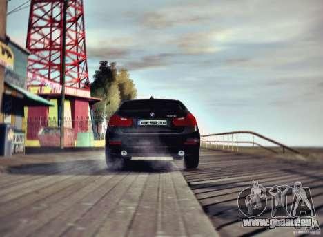 BMW 335i Coupe pour GTA 4 Vue arrière