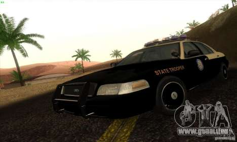 Ford Crown Victoria Florida Police pour GTA San Andreas