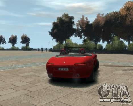 BMW Z8 für GTA 4 hinten links Ansicht