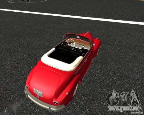 Chevrolet Special DeLuxe 1941 für GTA San Andreas Innenansicht