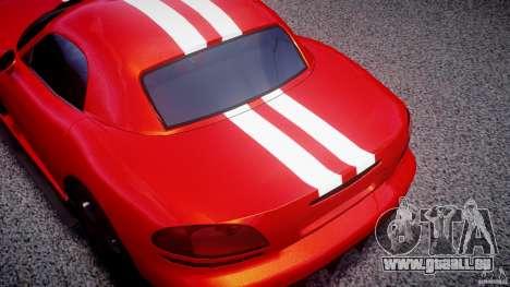 Dodge Viper RT 10 Need for Speed:Shift Tuning für GTA 4 Rückansicht