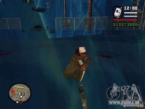 Tsunami pour GTA San Andreas deuxième écran