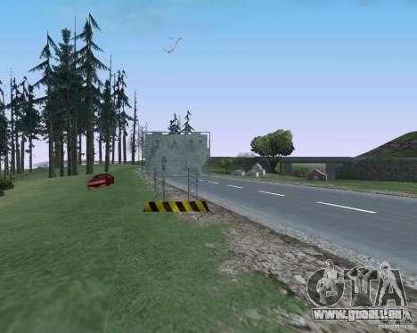 Route signes v1.1 pour GTA San Andreas septième écran