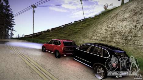 BEAM X5 Trailer für GTA San Andreas linke Ansicht