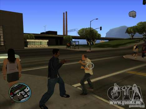 GTA IV TARGET SYSTEM 3.2 für GTA San Andreas dritten Screenshot