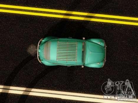 Volkswagen Beetle 1300 pour GTA San Andreas vue intérieure