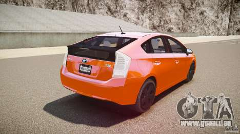 Toyota Prius 2011 pour GTA 4 est une vue de dessous