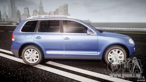 Volkswagen Touareg 2008 TDI pour GTA 4 est un côté