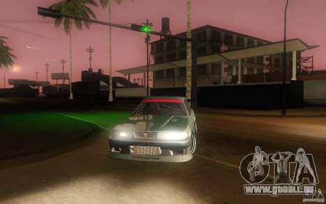 Toyota Soarer GZ20 für GTA San Andreas Seitenansicht
