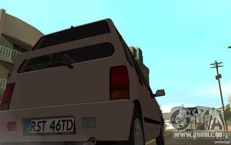 Daewoo Tico SX für GTA San Andreas zurück linke Ansicht