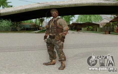 Frank Woods pour GTA San Andreas